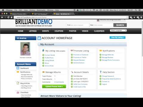 How to Create A Classified Ad with Brilliant Directories