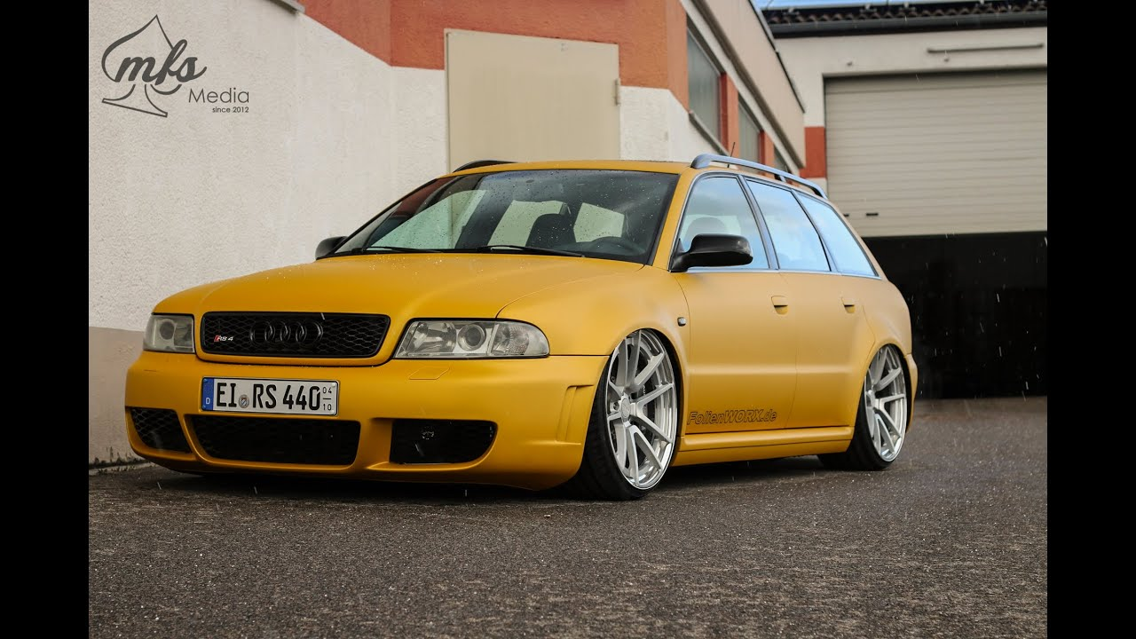 Audi Rs4 B5 Airlift Rotiform Trailer By Mfs Media