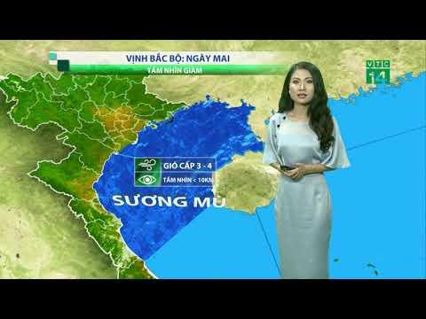 Thời tiết tổng hợp 19h 01/12/2018: Hà Nội thay đổi đáng kể, mưa rào xuất hiện kèm theo mây mù| VTC14