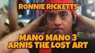 MANO MANO 3 : ARNIS THE LOST ART - FULL MOVIE - RONNIE RICKETTS COLLECTION