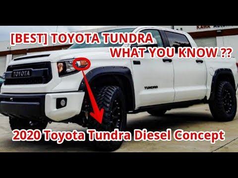 Toyota Concept Truck Diesel >> Best 2020 Toyota Tundra Diesel Concept Youtube