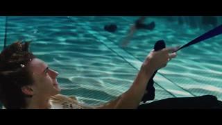 Such underwater scene was beautiful
