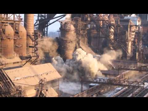/ The explosion of blast furnace - YouTube