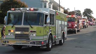 Coaldale Fire Company Lights & Sirens Fire Truck Parade 2019