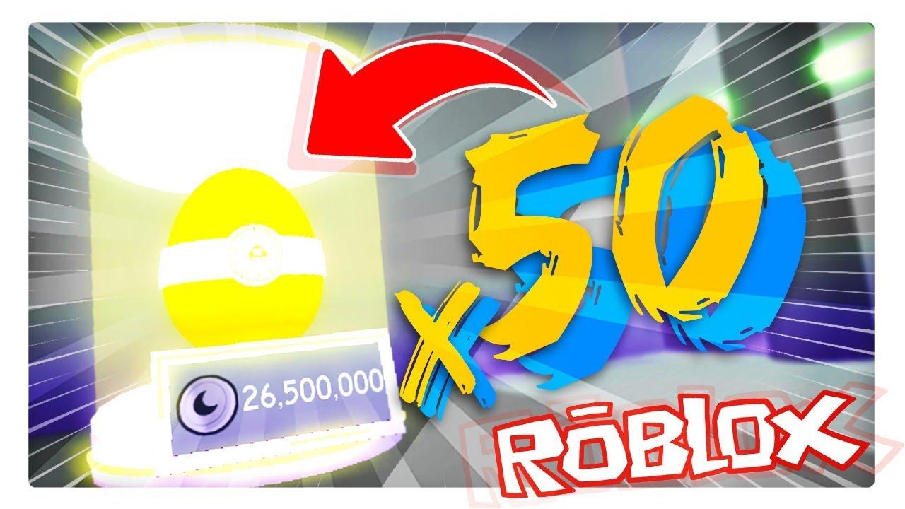 Abrimos 50 Mejores Huevos De La Luna Pet Simulator Roblox - escapamos del doctor malvado obby roblox bebe milo vita y