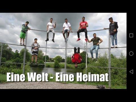 لقاء مع مجموعة شبان لاجئين في ألمانيا  Eine Welt - Ein Heimat