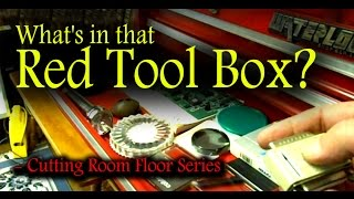 What's In That Red Tool Box? - Cutting Room Floor #3
