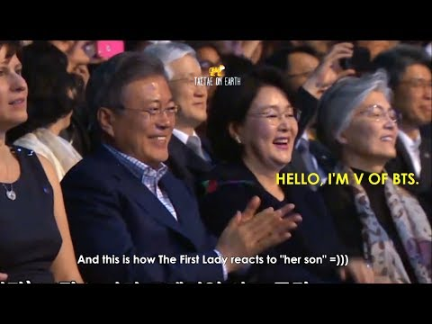 Everybody loves V Taehyung part 31 [President & The First Lady, Sungjae, Andrew Hussie, Fanboy,...]