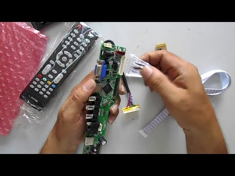 how-to-install-universal-motherboard-to-any-led-lcd-tv-easily
