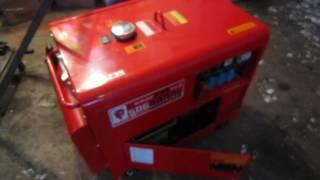 Дизельный генератор Kraft не выдает напряжения(, 2017-01-26T09:32:04.000Z)