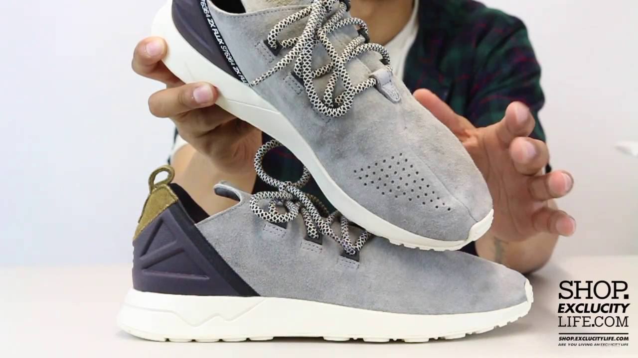 Adidas ZX Flux Advance Suede Unboxing Video at Exclucity