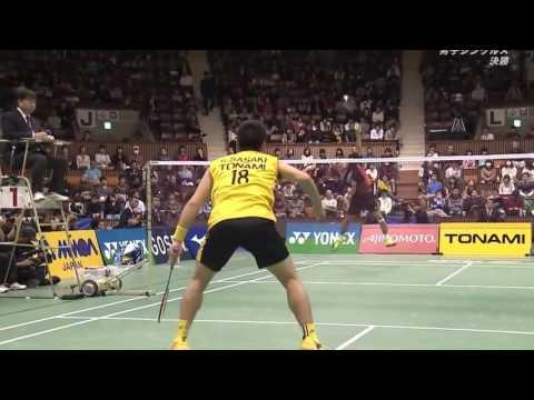 Thomas Cup 2010 Sho Sasaki vs Simon Santoso Mens Singles Semi Final 9/13 from YouTube · Duration:  3 minutes 16 seconds