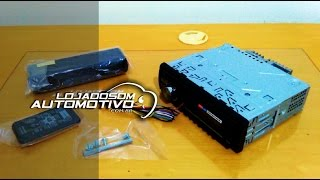 Como Instalar CD/DVD Player de Som Automotivo | Rádio no carro