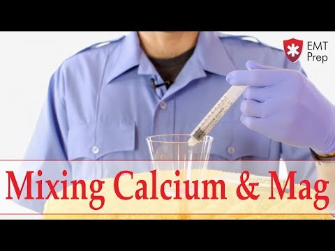 Calcium Chloride And Magnesium Sulfate In An IV Line - EMTprep.com