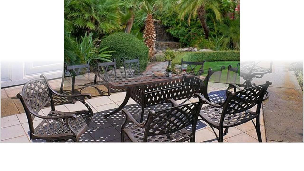 diseno de muebles de patio de hierro
