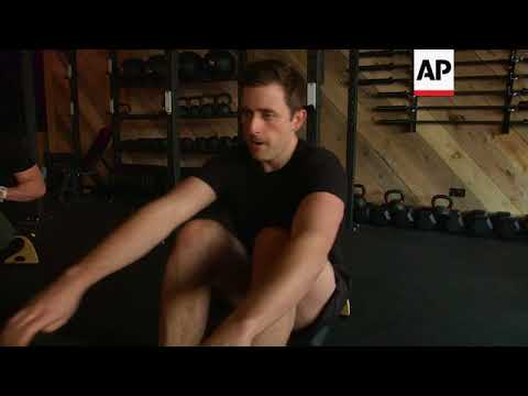 Environmentally-friendly gym harnesses people power