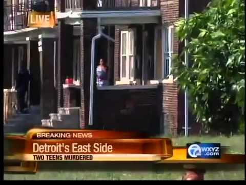 Double murder on Detroit's east side - YouTube