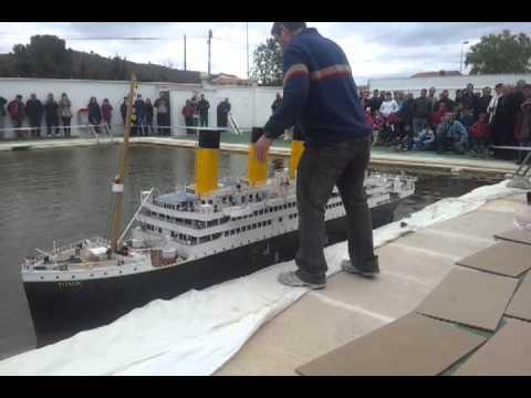 Barco titanic maqueta de madera balsa en construccion part 1 funnydog tv - Construccion del titanic ...