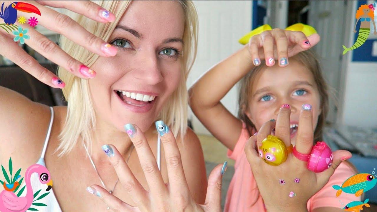 Test Pachnących Lakierów Peel Off Dla Dzieci Victoria Robi Mi