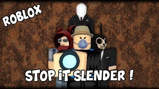 So Slender Ngerjain Temen 🤣-[Roblox-Stop It Slender] Indonesia