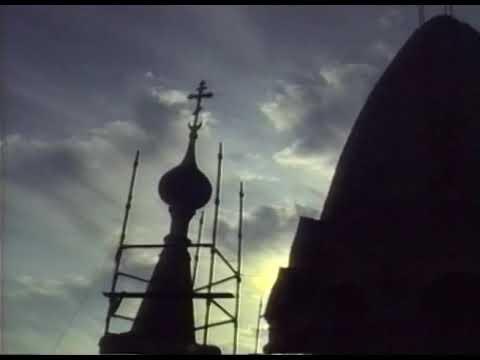Illarionov59: 1992г. Установка куполов на Покровском соборе