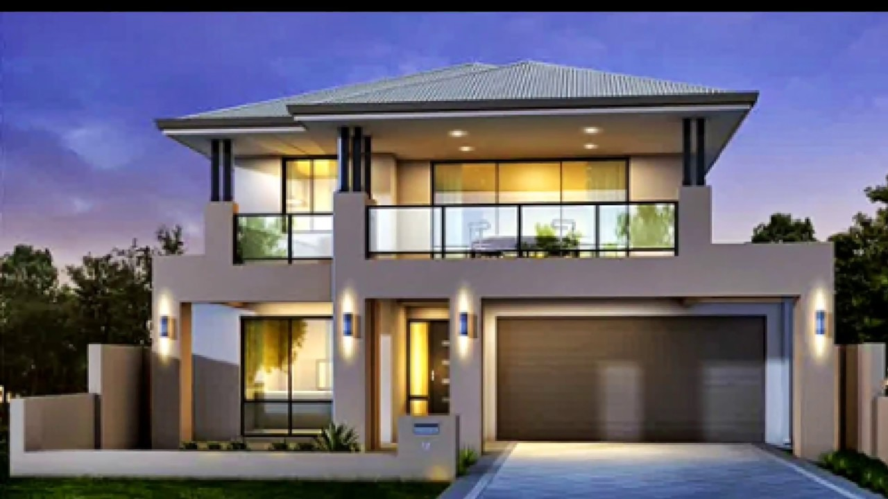 modern house design 2017-2018 - YouTube