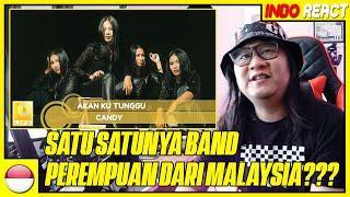 INDOREACT | Candy - Akan Ku Tunggu Live - THROWBACK
