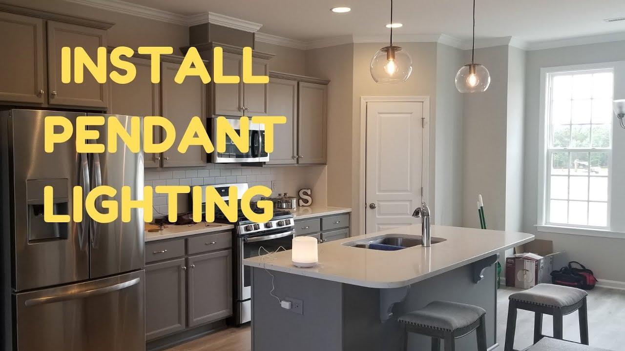 How to Install PENDANT Lighting   DIY