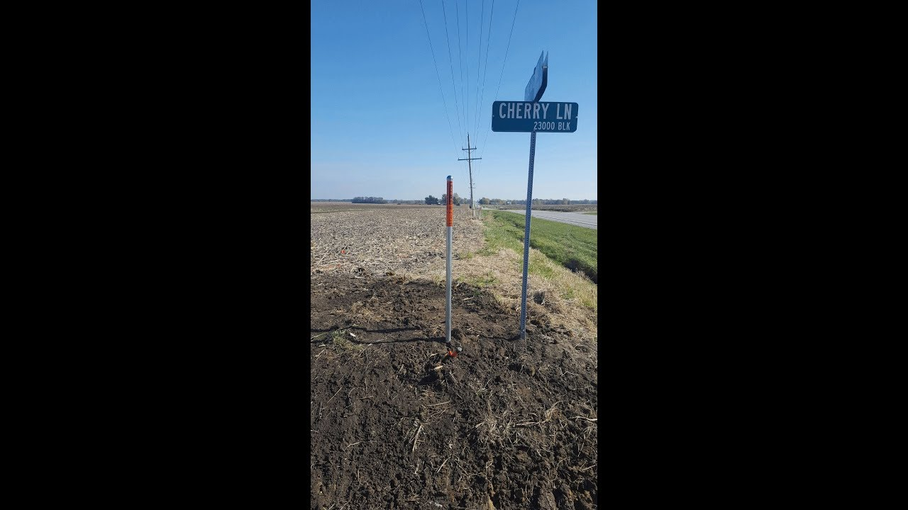ODEM Steel Line Marker and Locate Post Applications