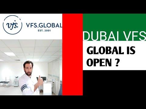 Dubai VFS Global is Open ? indir