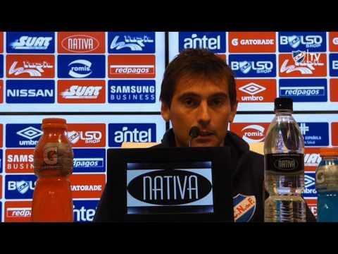 Conferencia de prensa de Martín Ligüera el 16/10/2016