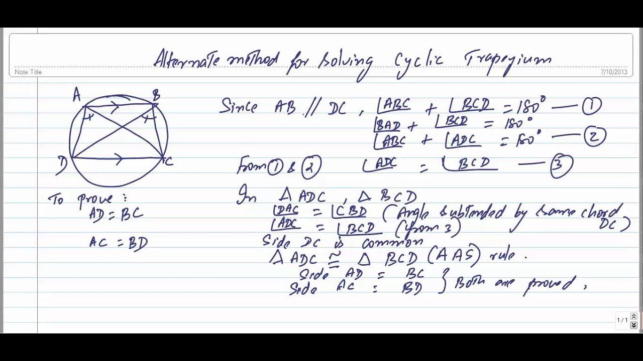 how to make a trapezium