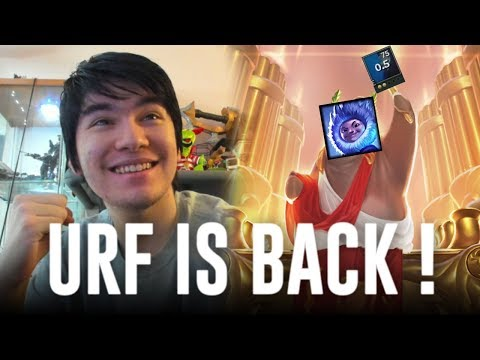 URF IS BACK ! NUNU HAS A 0.8 CD SNOWBALL WITH 80% CDR LOL WTF !?! PERMA W [ AP NUNU 1 SHOTS ]