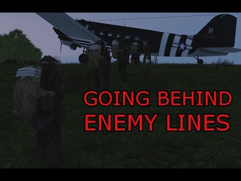 Hot Drop: 506th Behind enemy Lines Phase 1(Arma 3 Zeus US Ir