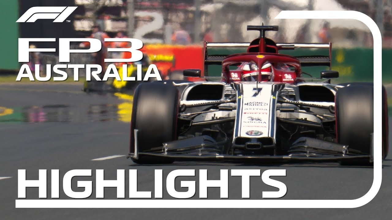 2019 Australian Grand Prix: FP3 Highlights