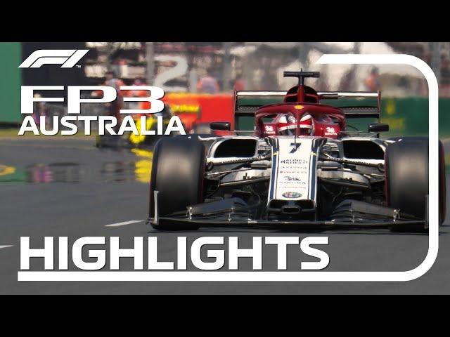 2019 Australian Grand Prix: FP3 Highlights