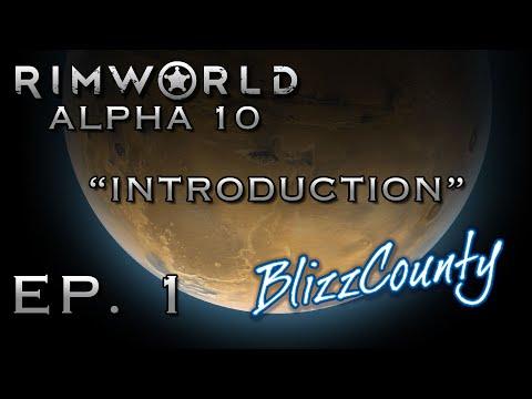 RimWorld Alpha 10 Unmodded - Ep. 1