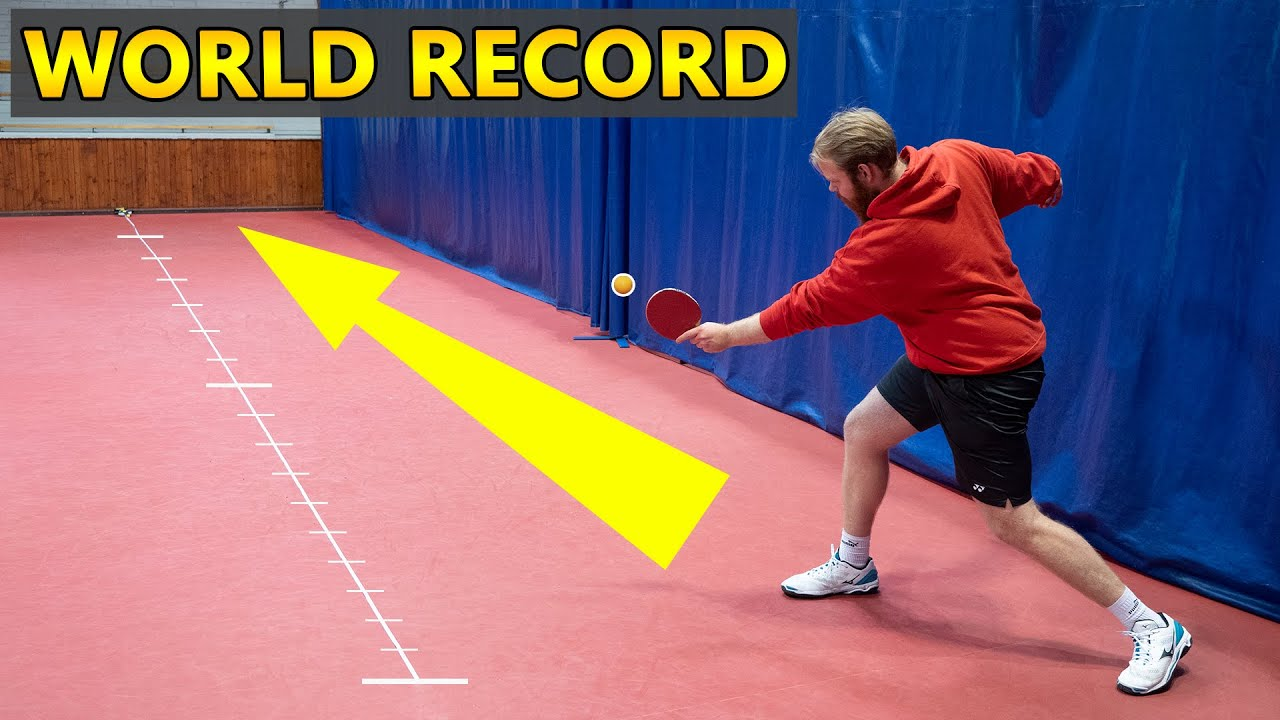 Download World's Longest Ping Pong Shot
