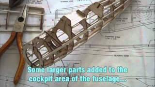 Building a - DUMAS - Westland Lysander - Balsa Model