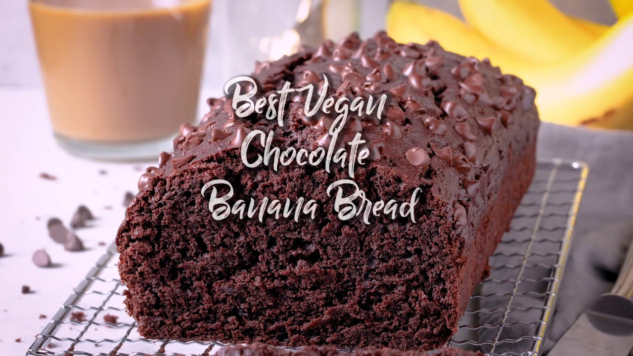 Best Vegan Chocolate Banana Bread (Easy One-Bowl Recipe)