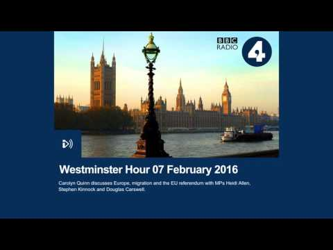 Heidi Allen MP - Appearance on BBC Radio 4 Westminster Hour