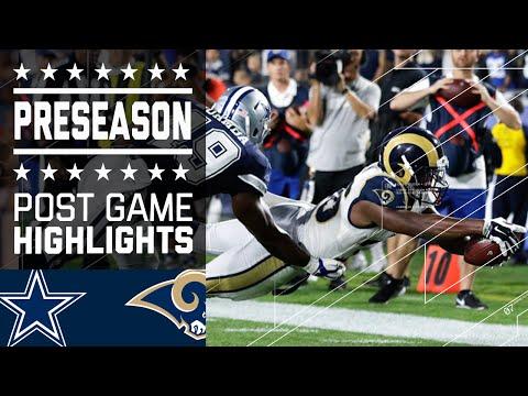 Cowboys vs. Rams   Game Highlights   NFL