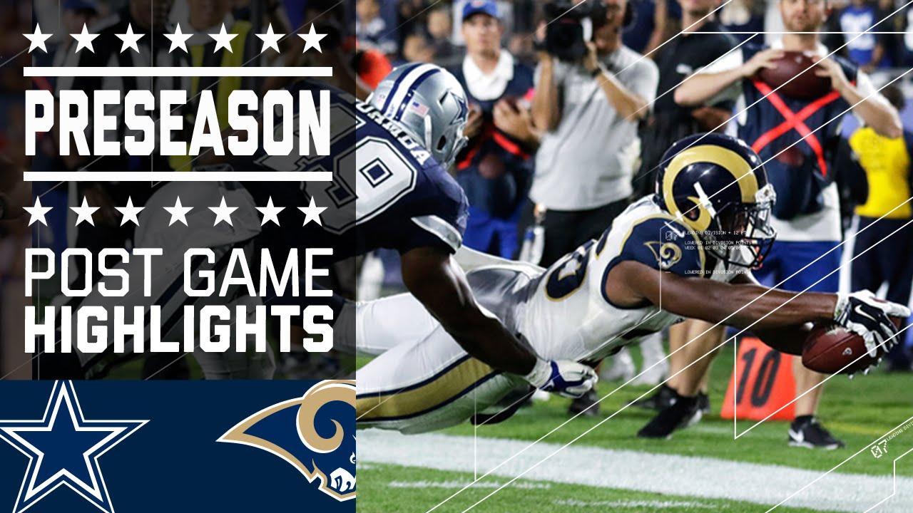 Los Angeles Rams vs. Dallas Cowboys RECAP, score and stats