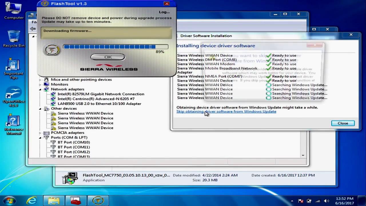 Pantech uml290 4g usb modem (verizon wireless).