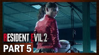 Resident Evil 2 Remake | Let's Play [Blind] Claire B - Part 5: Panic at the Station