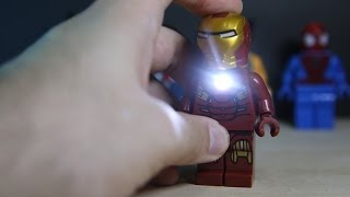lego dc vs marvel superheroes led big figures letai bootleg review