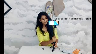 Mi Bluetooth Selfie Stick Tripod Unboxing | Mi Product | Best for vlogers and video makers