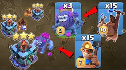 TH13 HYBRID ATTACK WRECKS ANY BASE! Town Hall 13 Miner Hog Attack Strategy 2020 | Clash Of Clans