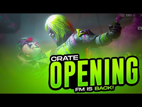 Crate Opening | Charity Stream | Lets Support Streamers | PUBG MOBILE  | FM RADIO GAMING
