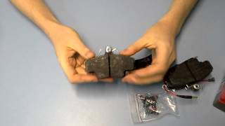 Колодки передние тормозные Logan Sandero до 2013 года TRW GDB400